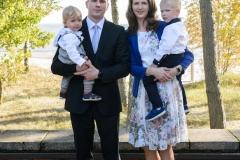 Linda ja Kermo oma poegadega